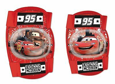 Disney CARS Boys Elbow and Knee Pads Set Skate Bike Scooters Size S 3+