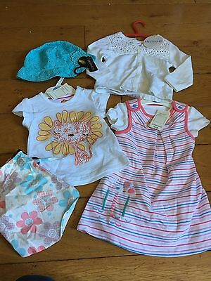 M&S Baby Girls Clothes Bundle Age 6-9 Months NEW With Tags