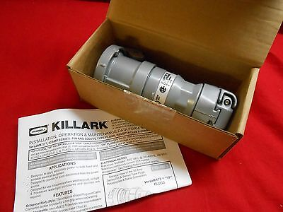 Killark Vpr3465 Style 2 Connector; 30Amp, 3-Wire, 4-Pole, 600Vac