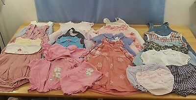 Baby Girls Clothing Dresses Rompers Outfits Size 18 Months Lot