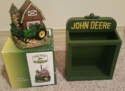 John Deere Pen Holder And Mail Holder