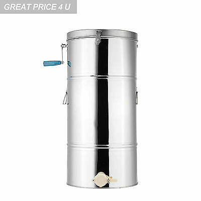 Pro 2 Frame Honey Extractor 201 Stainless Steel Beekeeping Equipment
