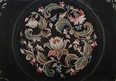 "Mary Svenson lovely tole painting pattern ""Floral Kaleidoscope"""