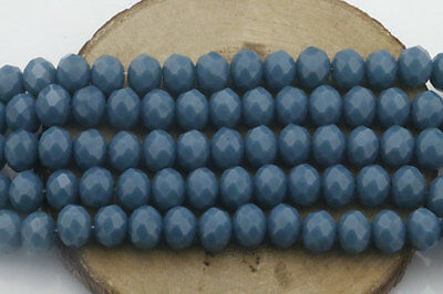 Wholesale 40PCS Deep Green Crystal Glass Bead Round Loose Spacer Beads 8mm ZD223