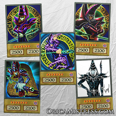 Yu-Gi-Oh! Custom Anime Orica - DARK MAGICIAN - 5 Card Set
