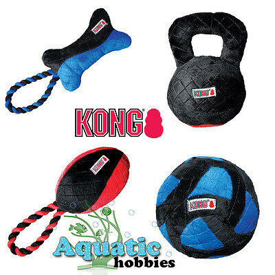 Kong CrossBit Small Squeak Plush Toy Fetch Fun Fitness For Dog Puppy Choose Toy