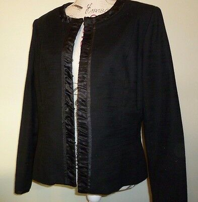 Stitches Brand Women's Black Jacket Size 14