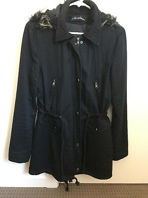 Women's Black Anorak Jacket Size XS NWOT