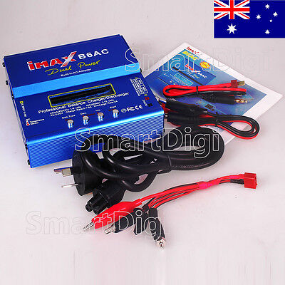 IMAX×B6AC 80W Digital Charger RC Lipo NiMh Battery Balance Charger Discharger