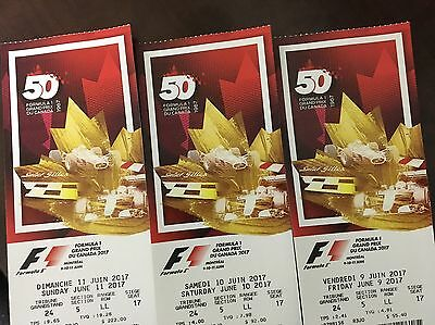 Formula 1 Grand Prix of Montreal Tickets 06/11/17 (Montreal)