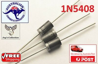 10 / 20 Pcs IN5408 1N5408 3A 1000V DO-27 Rectifier Diode [A4W]