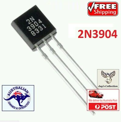 10 / 15 / 25 Pcs 2N3904 TO-92 NPN General Purpose Transistor TO92 [A4X]