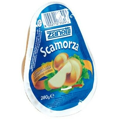 Semi-soft, chewy, firm and stringy, White Smoked Scamorza Cheese / Free Shipping