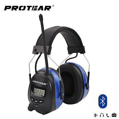 1Earmuff Defender Hearing Protector Bluetooth & Radio AM/FM Hearing Protection