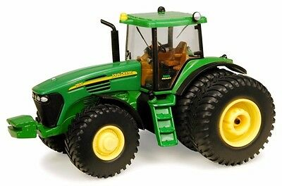 John Deere 7820 Series Tractor Scale 1/32 Diecast Ertl Dual Rear Wheels
