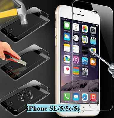 Vitre Protection incassable VERRE TREMPE iPhone 2  5 5C 5S SE X TEMPERED GLASS