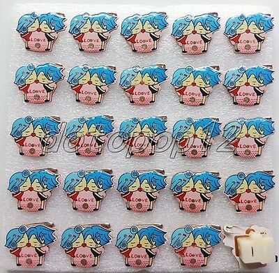 Lot Popular Love Flashing LED Light Up Badge/Brooch Pins Party Favors Z510