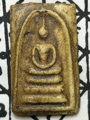 LP Phra Somdej Wat Rakung Amulet Thai Buddha Talisman Holy Powerful Magic 2.