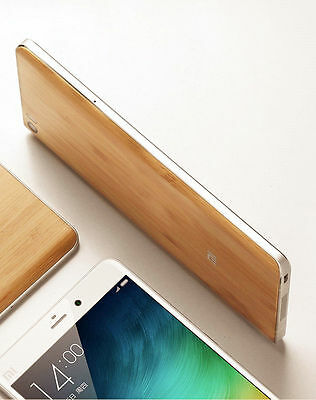 For Xiaomi Mi5 Mi 5 Back Battery Cover Replacement Original Wood Bamboo Case
