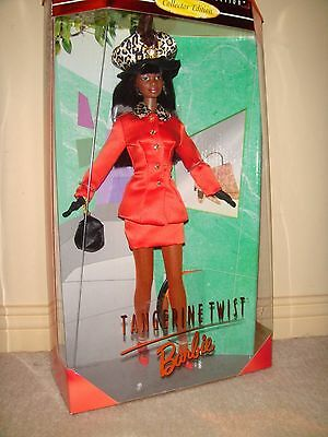1997 Tangerine Twist Barbie Doll African American Collectors Edition