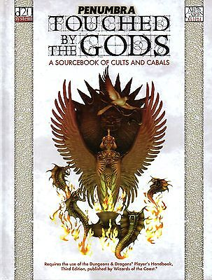 Dungeons & Dragons-TOUCHED BY THE GODS-A SOURCEBOOK OF CULTS AND CABALS-d20-(HC)