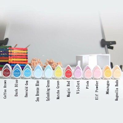 Memento Dew Drop Rubber Stamp Ink Pad 11 Dye Colours To Choose From
