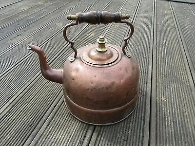Early Copper Electric Kettle
