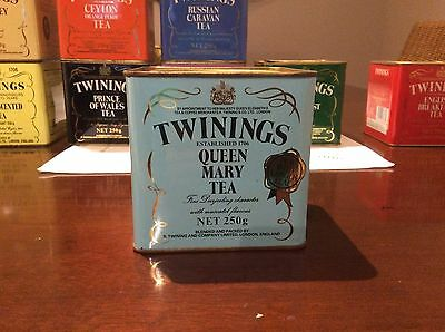 Antique Twinings Queen Mary Tea Tin