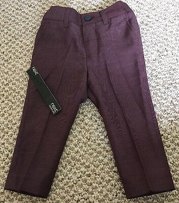 BNWT Baby Boy Trousers 9-12 Months Next Signature Range