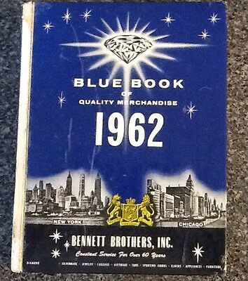 Vintage 1962 Bennett Brothers Inc Blue Book Of Quality Merchandise Catalog