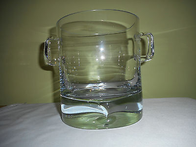 Krosno Ice Bucket Poland Heavy Crystal 16Cm High 14Cm Diameter