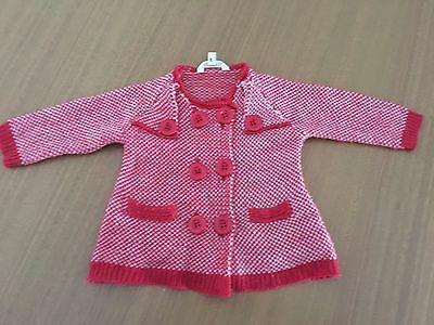 Cotton On Baby Cardigan Jacket  Red Size 00