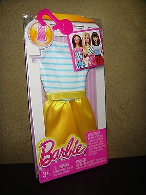 Brand New Fashionistas Barbie Doll Clothes Single Dress Pack #2