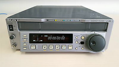 Sony J-30 Compact Cassette Player Betacam Beta SP/SX Digi-Beta MPEG/IMX