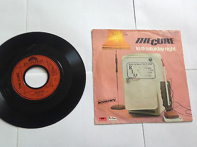 """The Cure - 10:15 Saturday Night - 7"""" French Promo UNCUT"""
