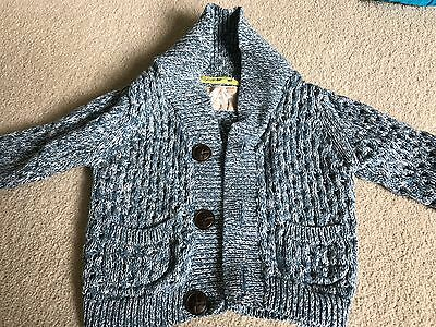 M&S Baby boys cardigan 3-6months