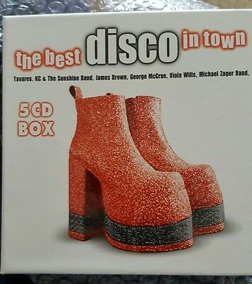 Various Artists: The Best Disco In Town - 5Cd Box Set