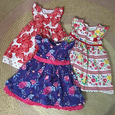 Pumpkin Patch Baby 00 & 0 Dress Bundle