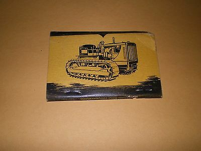 Old Held & McCoy Machinery Co Denver Caterpillar Tractor Dealer Matchcover