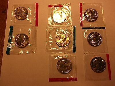 Susan B. Anthony Dollar Set / Collection 1979 - 1981 P-D-S   ( Unc. )