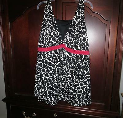 3X MOTHERHOOD MATERNITY Bathing Swim Suit Tankini TOP EUC HTF Plus Size