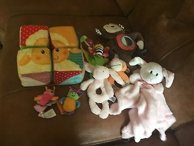 Selection of Baby Toys 0-6 Months