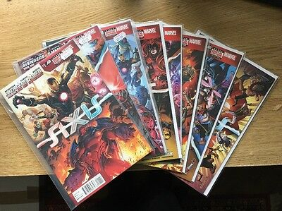 Avengers & X-Men: AXIS 1-9 Complete NM