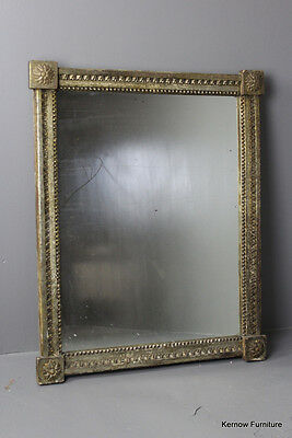 Large Antique Distressed Shabby Chic Mirror