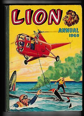 Lion Annual 1960 In Good Condition Not Price Clipped