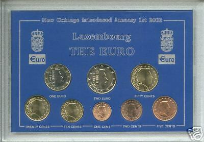 The Euro Zone Europe Coinage - Grand Duchy of Luxembourg Coin Collector Gift Set