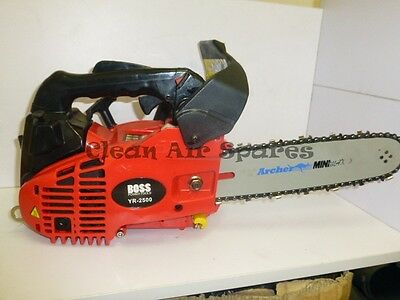 "Boss Top Handle Chainsaw Pruning Arborist Camping 25cc 10"" Chain Saw"