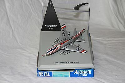 F-100 Super Sabre US Air Force - Collection Armour Metal 1/100 Ref 5192