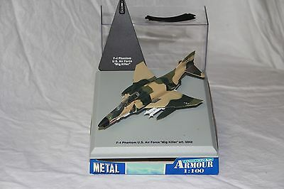 F-4 Phantom US Air Force - Collection Armour Metal 1/100 Ref 5042