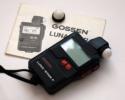 Gossen Luna Star F professional Reflected and Incident Photo Meter